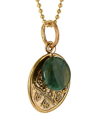 Image 4 ofMirabelle Coin Pendant With Jasper