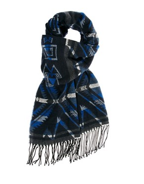 Image 1 ofPolo Ralph Lauren Aztec Scarf