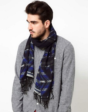 Image 2 ofPolo Ralph Lauren Aztec Scarf
