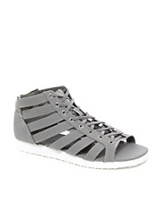Sandalias planas estilo gladiador FARAWAY de ASOS