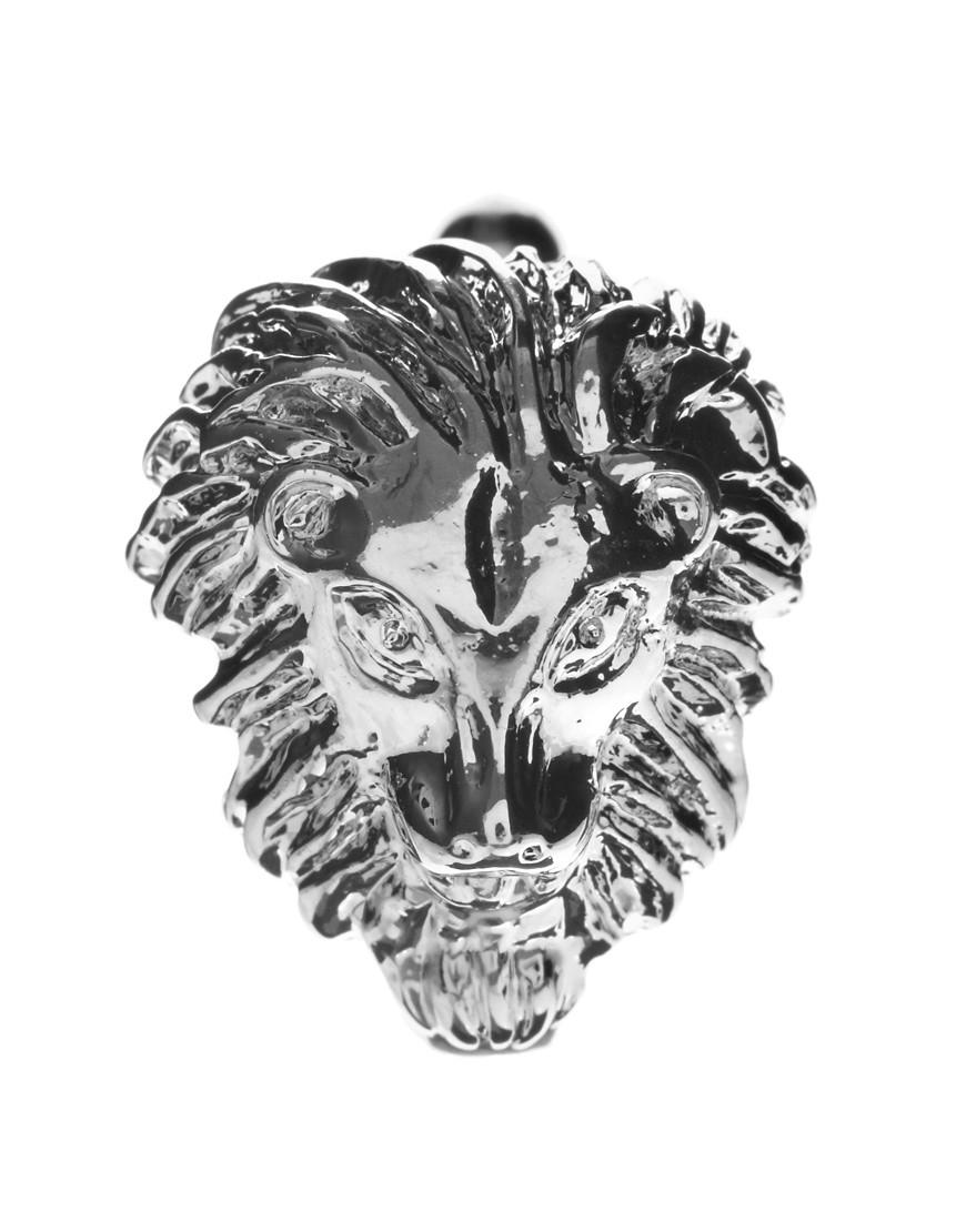 Image 2 ofASOS Lion Head Cufflinks