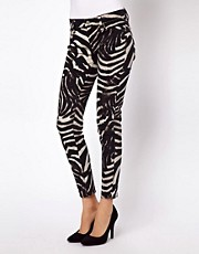 Denim &amp; Supply By Ralph Lauren Zebra Skinny Jeans