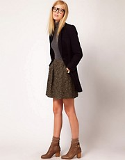 NW3 Tweed Full Skirt