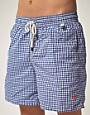 Image 1 of Polo Ralph Lauren Gingham Swim Shorts