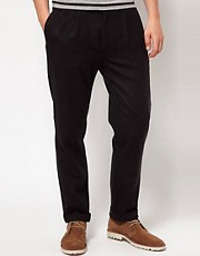 Wolsey Trousers In Tweed Wool