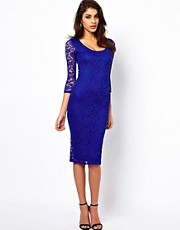 ASOS Midi Dress in Lace
