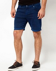 ASOS Denim Shorts With Acid Wash