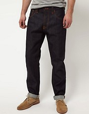 Nudie Big Bengt Dry Dirt Organic Loose Tapered Jeans