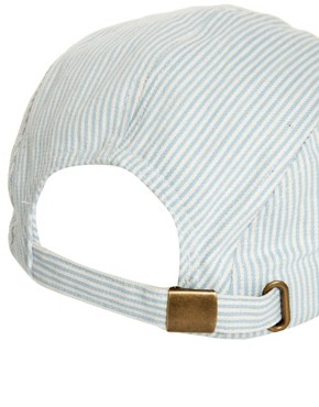 Image 3 ofASOS 5 Panel Seersucker Cap