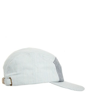 Image 4 ofASOS 5 Panel Seersucker Cap