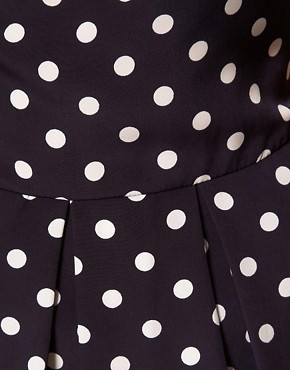 Image 3 ofA Wear Polka Dot Shell Top