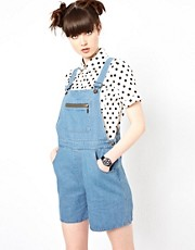 The WhitePepper Denim Dungarees