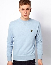 Lyle &amp; Scott Vintage Sweatshirt with Eagle Logo