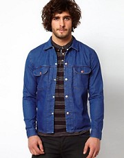 Camisa/chaqueta en denim inspirada en los aos 70 de Paul Smith Jeans