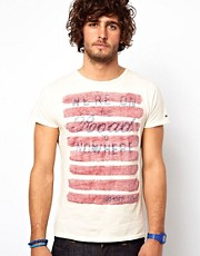 Hilfiger Denim T-Shirt with Flag Print