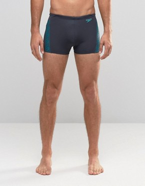 Speedo Trunks 27cm Monogram Aquashorts