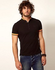 Firetrap Tipped Polo Shirt