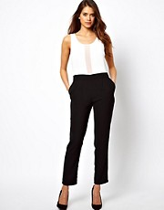 True Decadence Jumpsuit in Two Tone