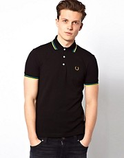 Fred Perry Laurel Wreath Polo with Twin Tip - Made in Japan