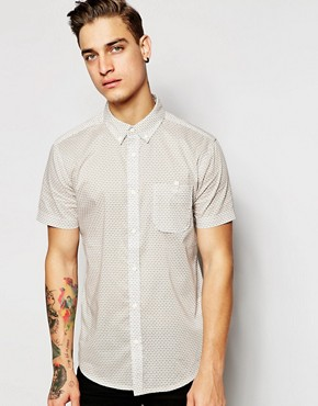 Silver Eight Floral Short Sleeve Shirt
