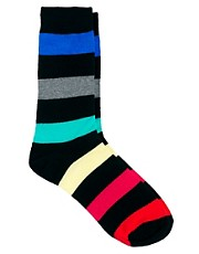 Jack and Jones &ndash; Cairns &ndash; Gestreifte Socken