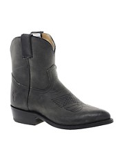 Frye Billy Short Charcoal Western Boots