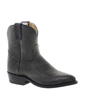 Image 1 ofFrye Billy Short Charcoal Western Boots