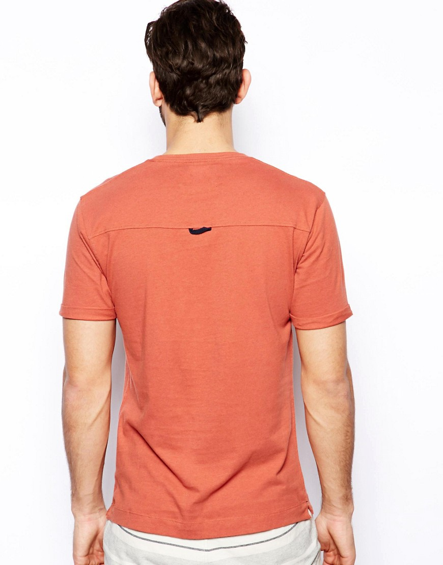 Image 2 ofSelected T-Shirt With Pocket Tab