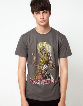 Image 1 ofAmplified Iron Maiden T-Shirt