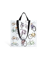Blue Q &ndash; Bicycles &ndash; Shopper-Tasche mit Fahrradmuster