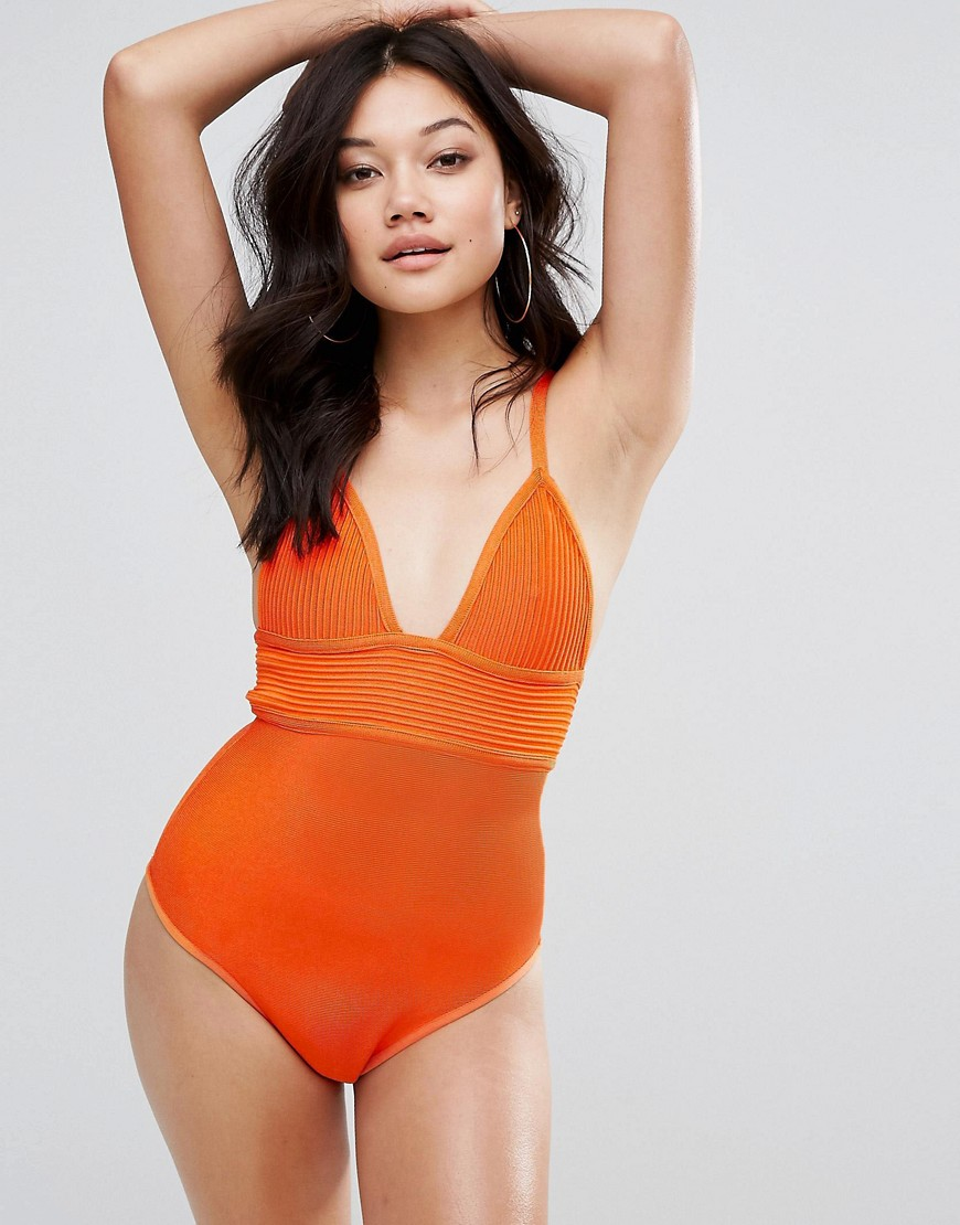 PrettyLittleThing Bandage Swimsuit