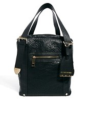 River Island Black Tumbled Slouch Bag