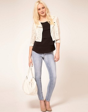 Image 4 ofMango Biker Jacket