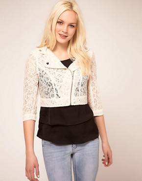 Image 1 ofMango Biker Jacket