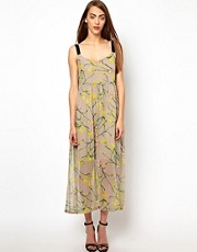 Antipodium Freudian Midi Silk Dress