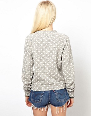 Image 2 ofWorn By Pin Up Polka Dot Sweatshirt