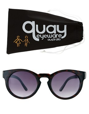 Image 2 ofQuay Eyewear Round Sunglasses