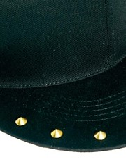 ASOS Snap Back Cap With Stud Peak
