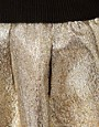Image 3 ofSelected Metallic Mini Skirt