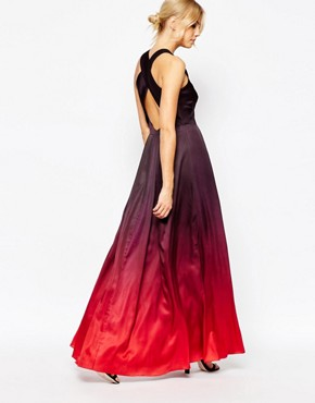 Ted Baker Yumie Open Back Maxi Dress
