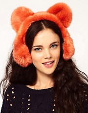 River Island Bear Ear Muffs