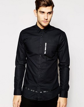 Jack & Jones Shirt With Rubberised Pocket