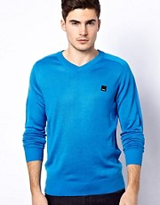 Bench V-Neck jumper