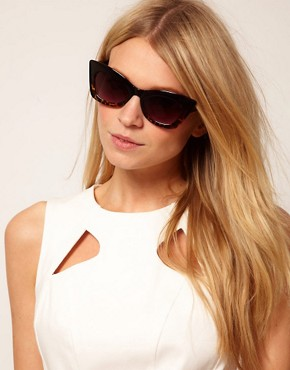 Image 3 ofASOS Mix Frame Cat Eye Sunglasses