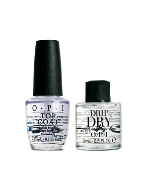 Image 1 ofOPI Limited Edition DripDry &amp; FREE Top Coat SAVE 27%