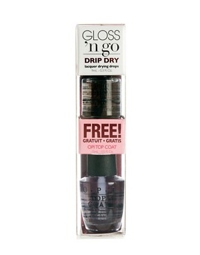 Image 2 ofOPI Limited Edition DripDry &amp; FREE Top Coat SAVE 27%