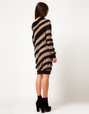 Image 2 ofMiss Sixty Striped Jumper Dress