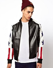 Joyrich - Giacca con stelle e scritta &quot;NYC&quot;