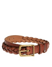 Polo Ralph Lauren Leather Plaited Belt