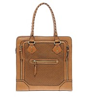 Aldo Dechert Perforated Zip Shopper